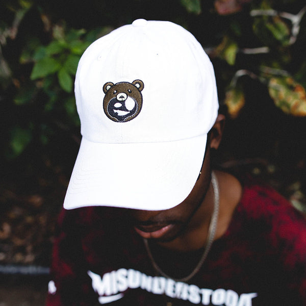 Entree LS Misunderstood Teddy Logo Dad Hat In White