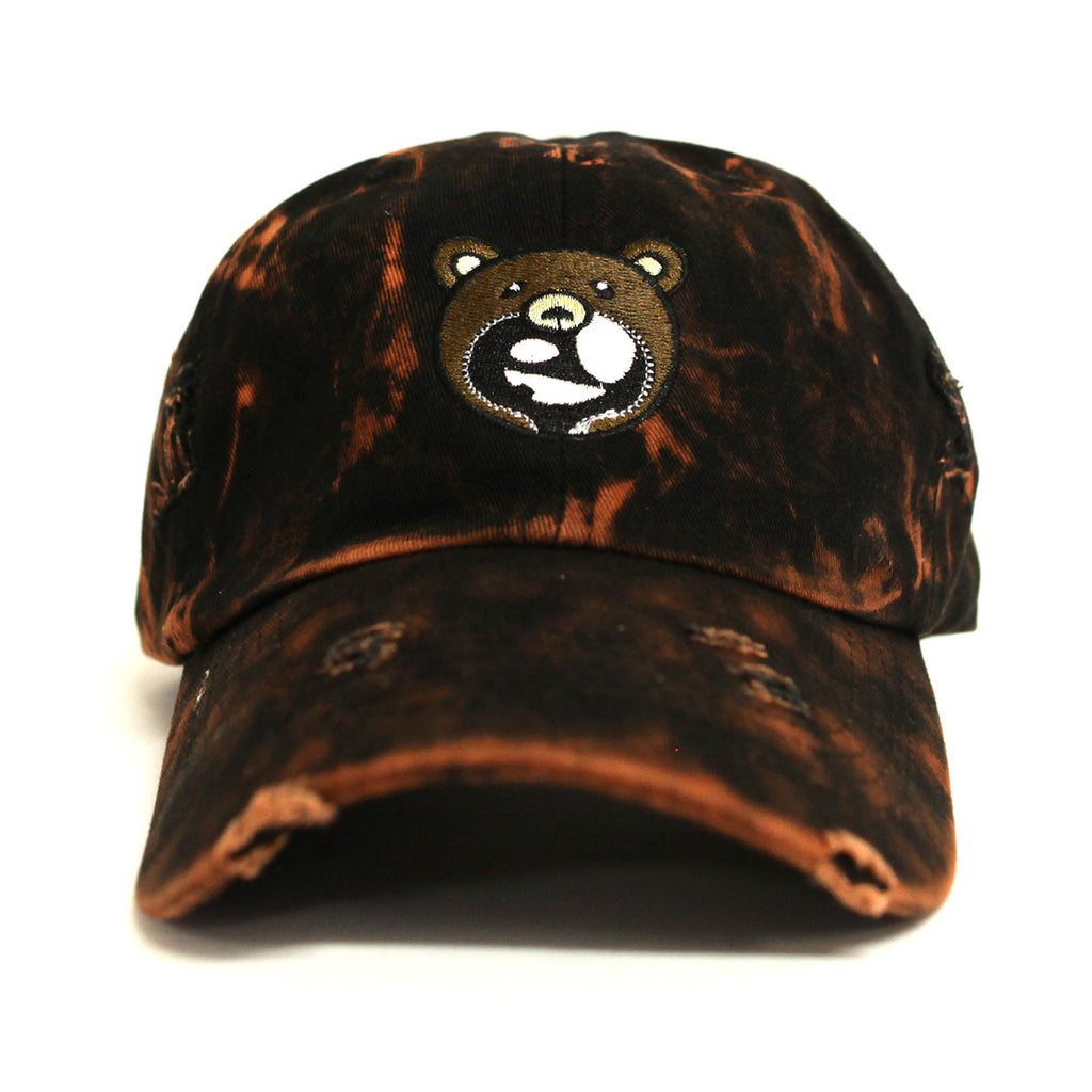 Entree LS Teddy Logo Vintage Bleach Distressed Dad Hat