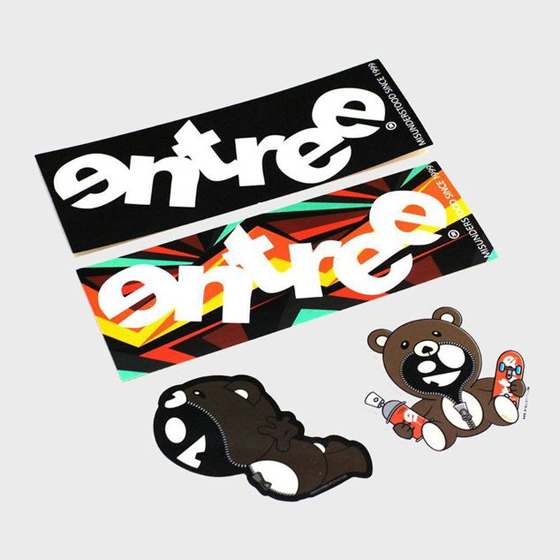 Entree LS Sticker Pack A - Pack of 4 - Low Stock