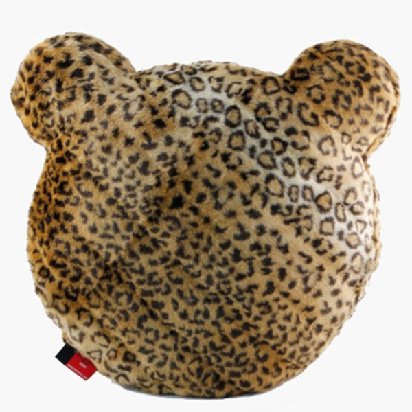 Teddy Leopard Throw Pillow