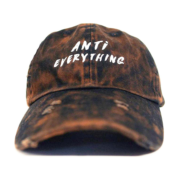 Anti Everything Vintage Bleached Dad Hat - Just Restocked