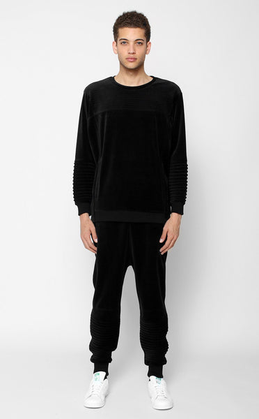 BOTTOMS - UNKNOWN HARBINGER Black Jogger