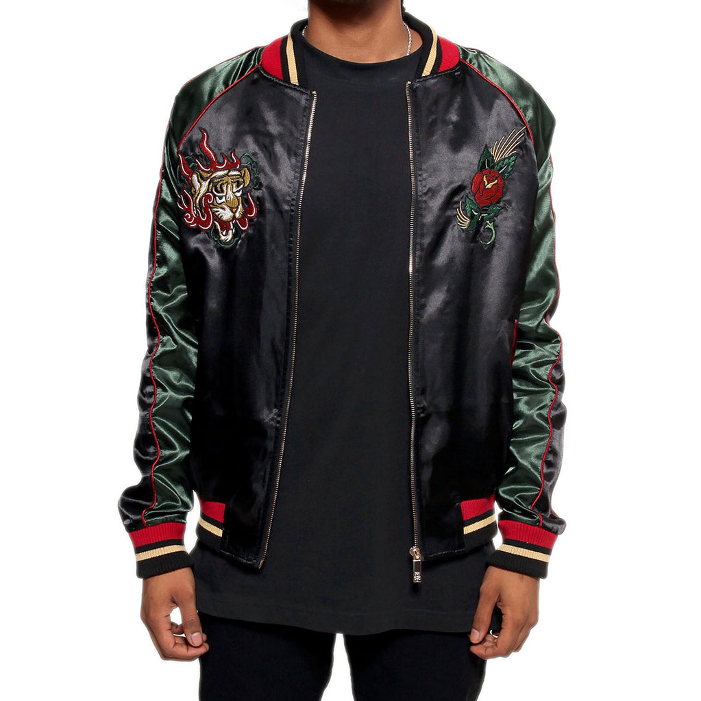 Japanese Tiger Satin Gucci Color Embroidery Souvenir Jacket – Entree  Lifestyle a63b3d92013f