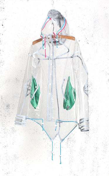 OUTERWEAR - Unknown Clear Raincoat With 3M Piping