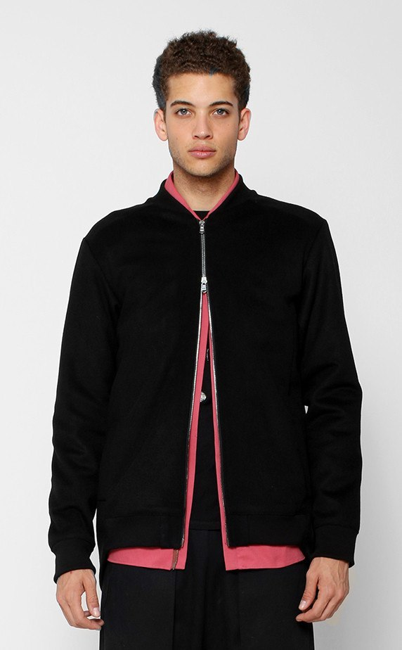 OUTERWEAR - UNKNOWN EVANGELION BLACK WOOL JACKET
