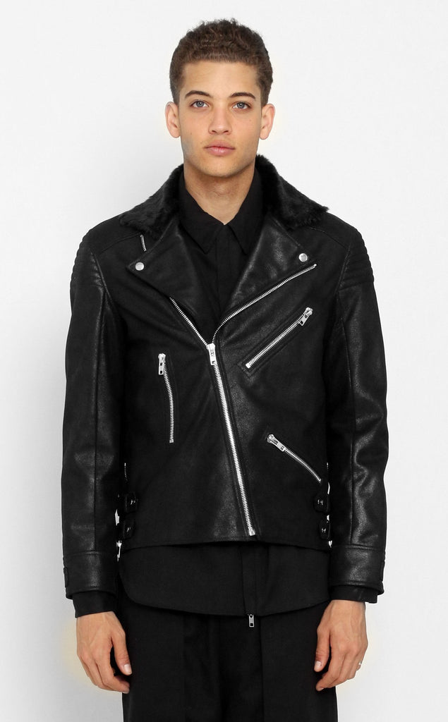 OUTERWEAR - UNKNOWN NEMESIS LEATHER JACKET