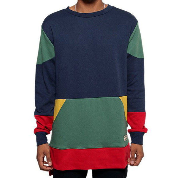 Entree LS 1990's Vintage Color Cut And Sewn Sweatshirt - 1 Left!