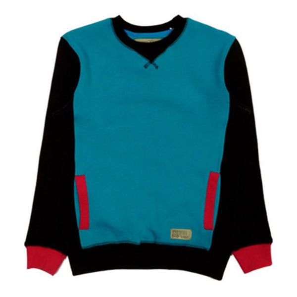 Entree LS Womens Mikkusu Aqua Crewneck Sweatshirt - Low Stock