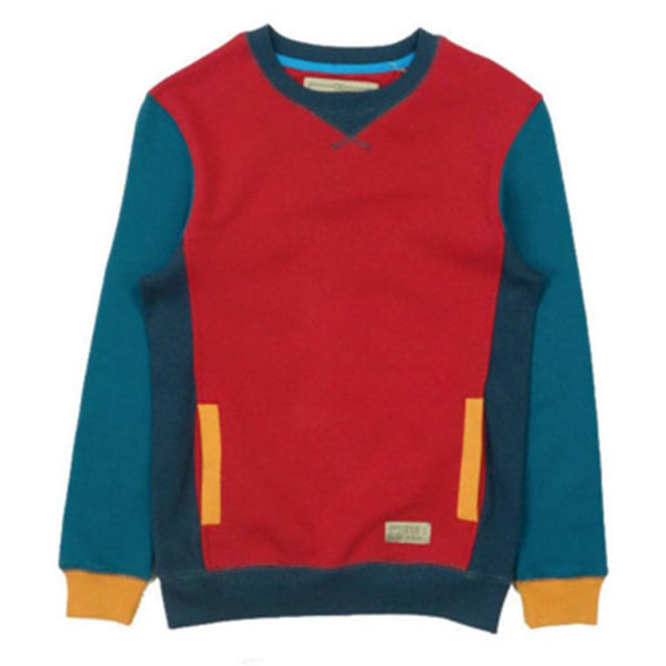 Entree LS Womens Mikkusu Red Crewneck Sweatshirt - Last One!