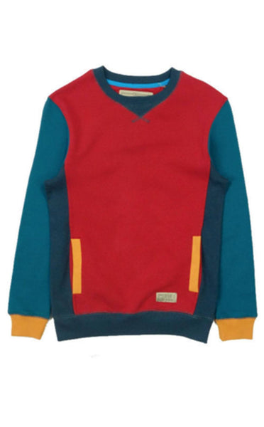 TOPS - MIKKUSU Women Red Crewneck