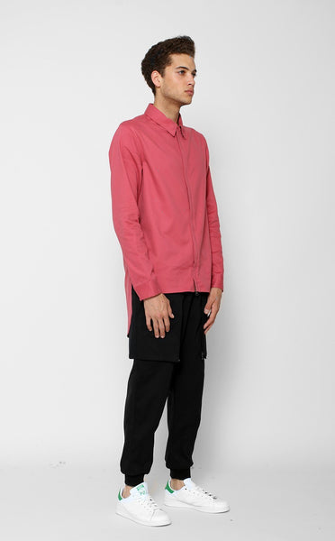TOPS - UNKNOWN ALACRITY Button Down Salmon