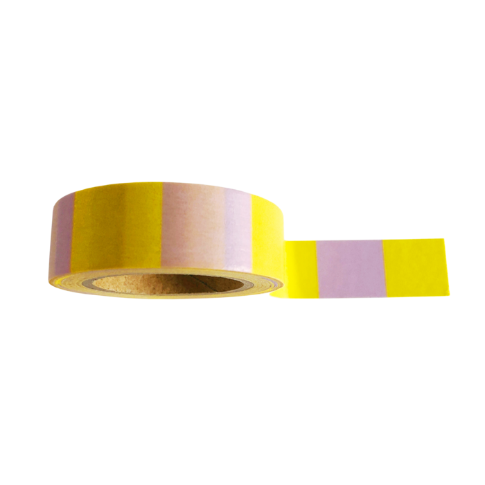 Washi Tape Yellow Lilac