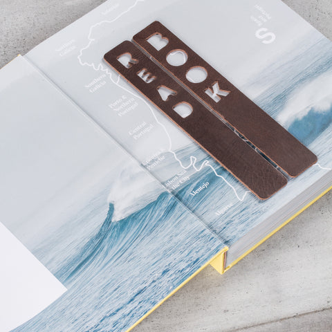 Bookmark Read Chocolate Brown