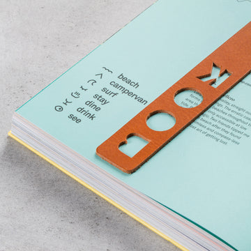 Bookmark Book Roasted Apricot