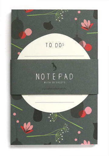 Flowers notepad