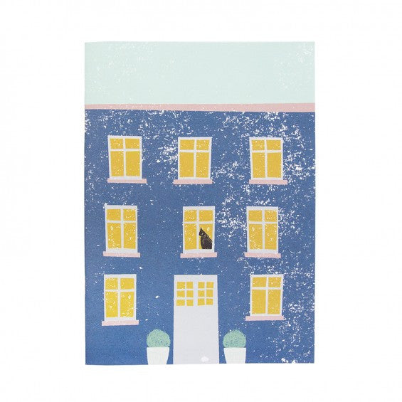 Blue House Notebook