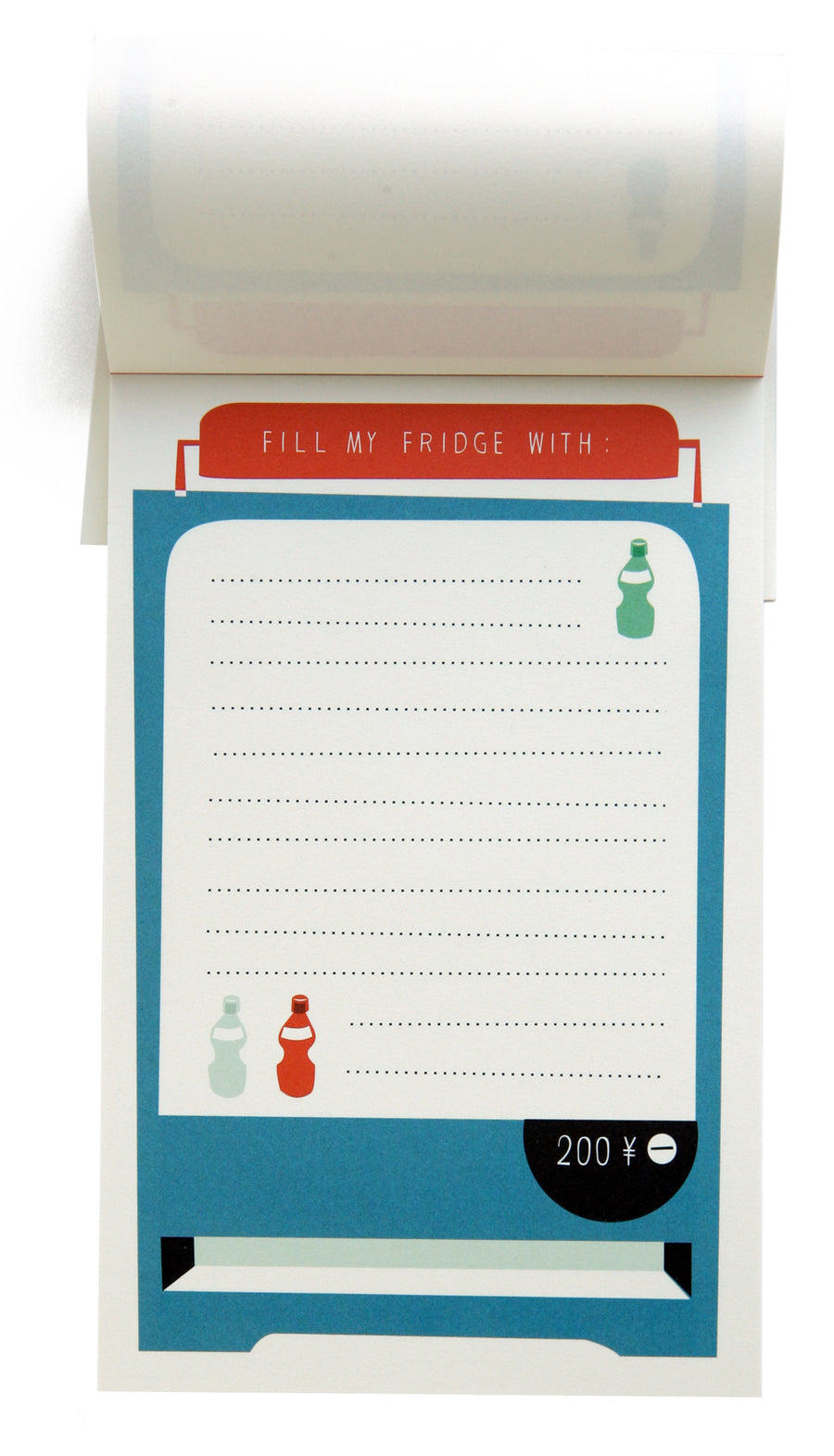 Fridge notepad