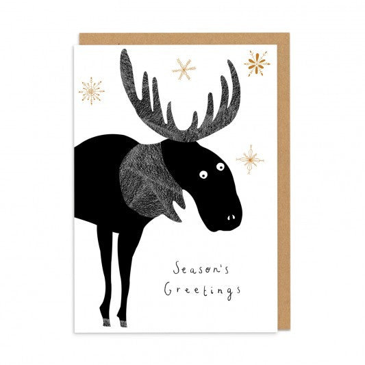 Season's Greetings Moose