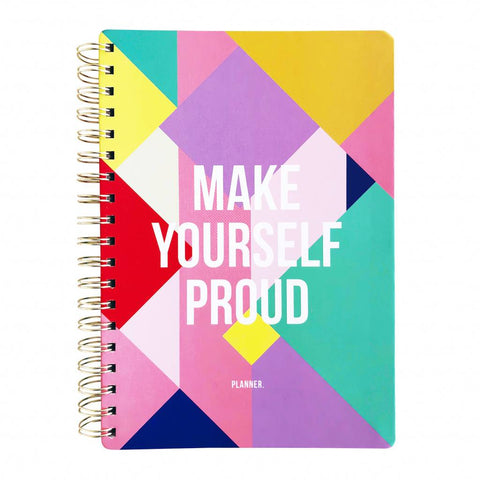 Planner Make yourself proud