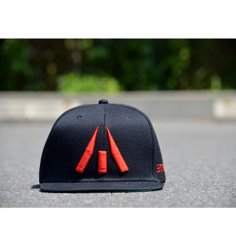 RED and BLACK SNAPBACK