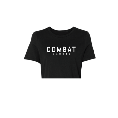 COMBAT BARBIE CROP TOP
