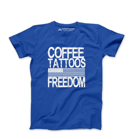 CTF shirt Royal Blue