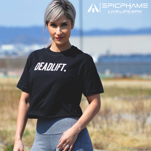 DEADLIFT CROPPED Tee