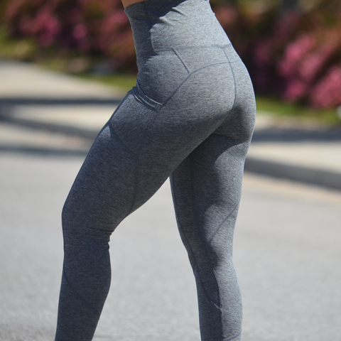 REFLECTION LEGGINGS STREET GREY
