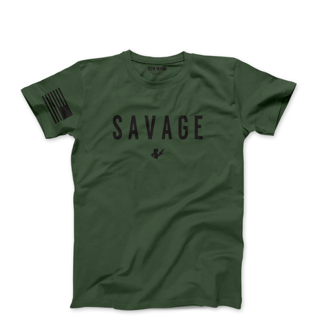 MILITARY OLIVE GREEN LIMITED EDITION SAVAGE