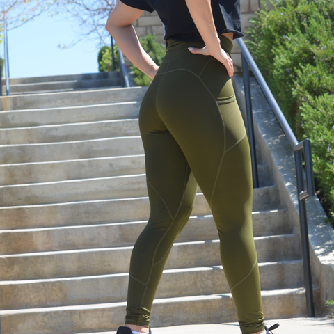 REFLECTION LEGGINGS MILITARY OLIVE