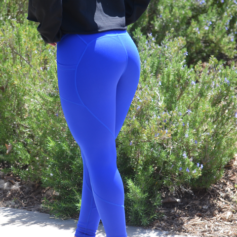REFLECTION LEGGINGS ELECTRIC BLUE