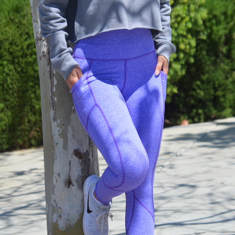 REFLECTION LEGGINGS LAVENDER BLEND
