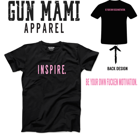 GUN MAMI INSPIRE- FULL LENGHT or CROPPED