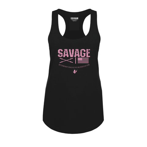 USA SAVAGE Racerback Tank