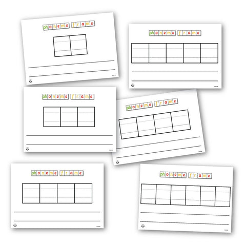 picture about Five Frame Printable referred to as Printable Phoneme Frames