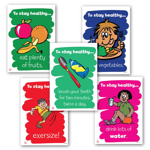 Staying Healthy Posters
