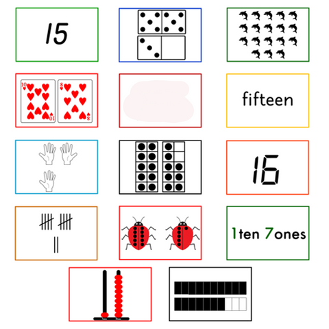 Number Cards - 11-20 - Sort and Sequence