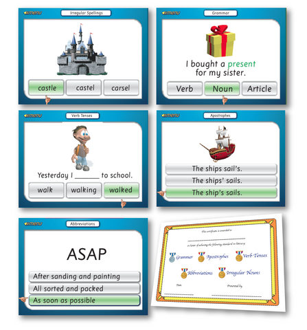 5 Advanced Literacy Games Download