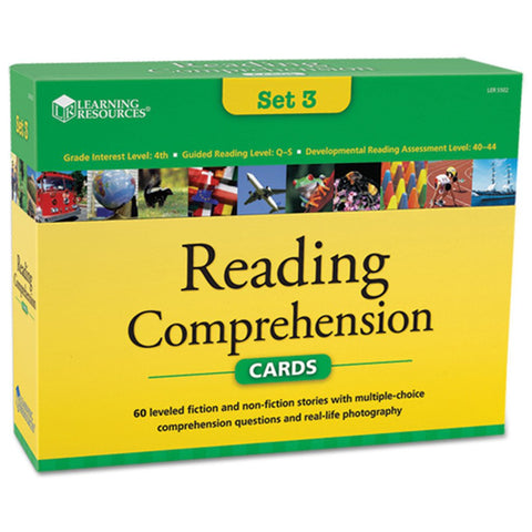 Reading Comprehension Set 3 (age 9+)
