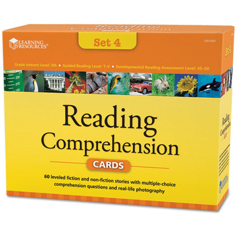 Reading Comprehension Set 4 (age 10+)