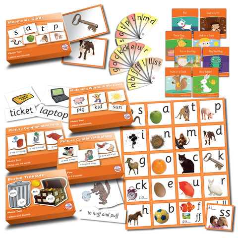 Letters & Sounds Phase 2 Essentials Kit