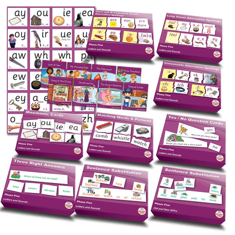 Letters & Sounds Phase 5 Essentials Kit