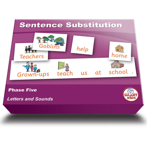 Sentence Substitution Phase Five Set 2