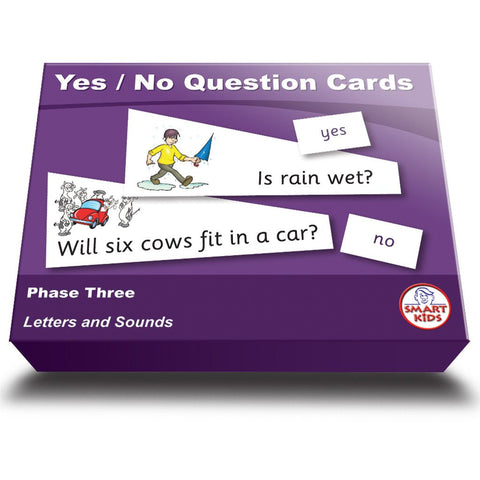 Yes/No Question Cards Phase Three