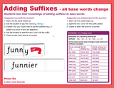 Suffix Strips -all words change