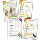 Phase 2 & 3 Decodable Text Activity Book