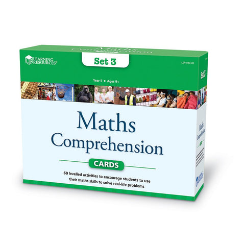 Maths Comprehension Problem Solving Set 3