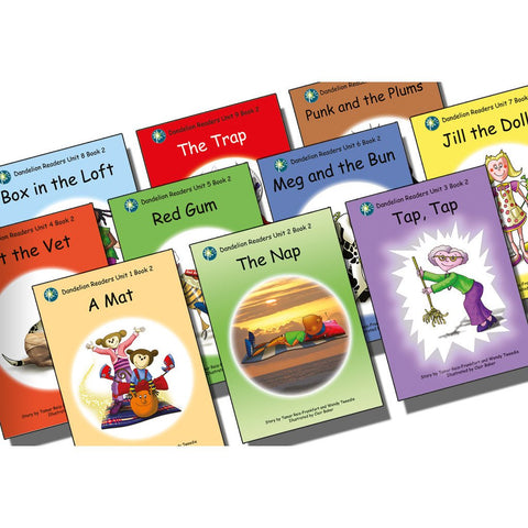 Dandelion Readers Book Pack Units 1-10 Series 2