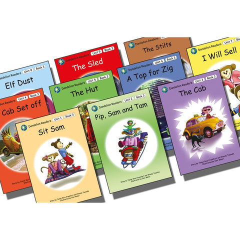 Dandelion Readers Book Pack Units 1-10 Series 3