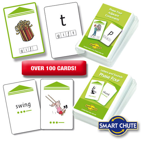 Letters and Sounds Phase 4 Chute Cards Smart Buy
